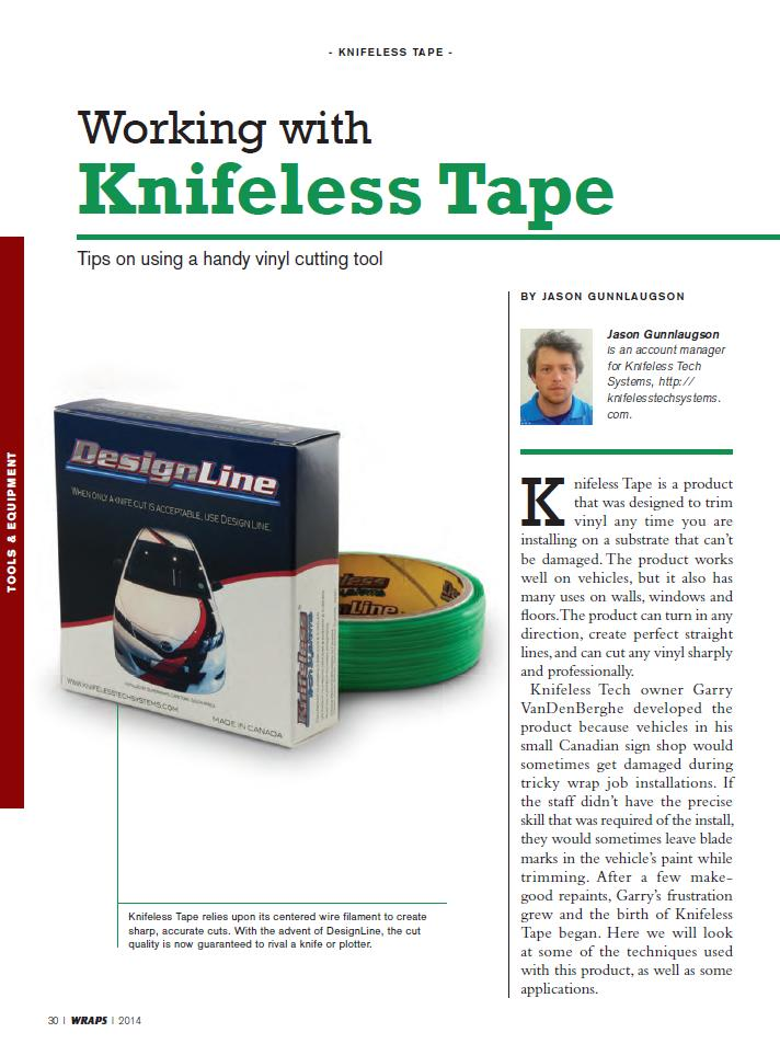 Knifeless Tape